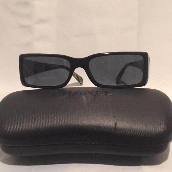 363e4874913 CHANEL Accessories - Chanel small sunglasses with case.